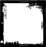 Medium empty photo frame,. With free space for your pix. Grungy style vector illustration vector illustration