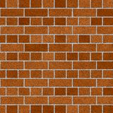 Medium English Brick Wall. Brick Wall Medium English Pattern Background / Brown-Orange Brick Surface / Seamless texture Stock Photo
