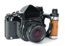 Medium format camera Royalty Free Stock Photo