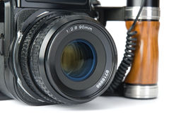 Medium format camera Stock Image