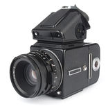 Medium format camera iso Royalty Free Stock Photo