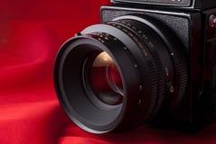 Medium Format Camera and Lens Stock Photos