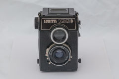 Medium format camera LUBITEL 166B royalty free stock images