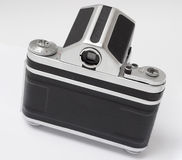 Medium format old retro antique film analogue camera back Royalty Free Stock Photo