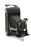 Medium format retro camera Royalty Free Stock Photo