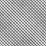 Medium Gray Gingham Pattern Repeat Background Stock Photo
