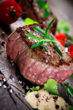 Medium grilled bbq steak Stock Photography
