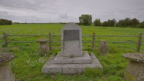 Memorial Tombstone, Scottish Highlands, Scotland