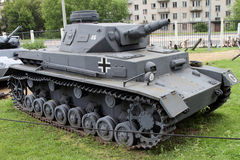 Medium panzer PZ.IV Т-4 Germany on grounds of weaponry exhi Royalty Free Stock Image