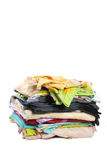 Medium pile of bed-clothes #2 | Isolated Stock Photo