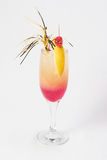 Medium pink cocktail Stock Image