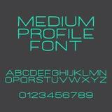 Medium profile Stock Images