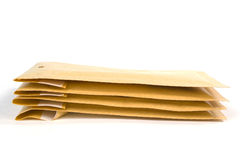 Medium size bubble lined shipping or packing envelopes Royalty Free Stock Photo