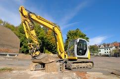 Medium size excavator Royalty Free Stock Photography