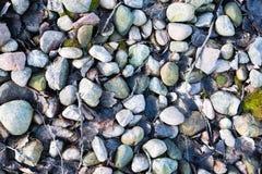 Medium size stones texture. A texture of medium size stones Royalty Free Stock Image
