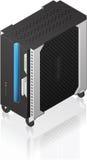 Medium Tower Size Server Rack Stock Photography