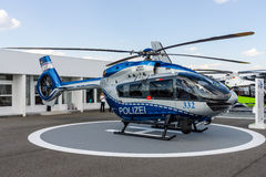 Medium utility helicopter Airbus Helicopters H145 of the German State Police Royalty Free Stock Images