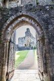 medival的城堡 库存图片