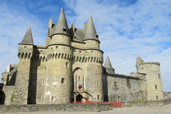 Medival castle France Stock Image