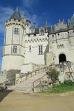 Medival castle France Royalty Free Stock Photography