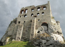 Medival castle ruin Stock Images