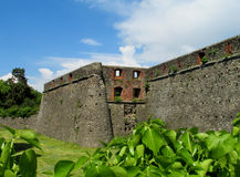 Medival castle walls Royalty Free Stock Photography