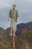 Medival-Folterung Impalement Stockbild