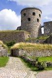 Medival fortress in Kungälv stock photos