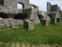 Medival ruiny Zdjęcia Royalty Free