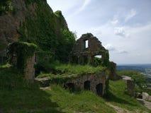 Medival ruiny Obrazy Royalty Free