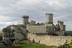 Medival Schloss Lizenzfreies Stockbild