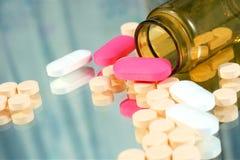 Medizin auf Glas Lizenzfreies Stockfoto