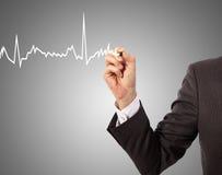 Medizin, Handzeichnung Lizenzfreie Stockfotografie