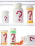 Medizin-Kabinett Zweifel Stockfotografie