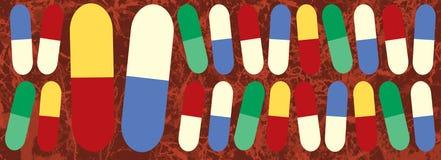 Medizin-Pillen Lizenzfreies Stockfoto