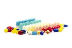 Medizin-Pillen Stockbilder