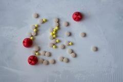Medizin: Pillen und Vitamine stockfotografie