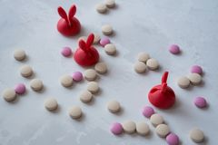 Medizin: Pillen und Vitamine lizenzfreie stockfotografie