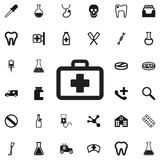 Medizin-Taschenvektorikone Stockbild