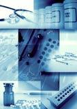 Medizin- und Apothekehintergrund lizenzfreie abbildung