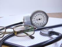 Medizin und Diagnosen Stockbild