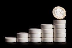Medizin und Geld Lizenzfreie Stockbilder