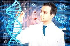 Medizin und Zukunft Stockfotos