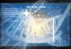 MedizinBenutzerschnittstelle Lizenzfreie Stockfotografie