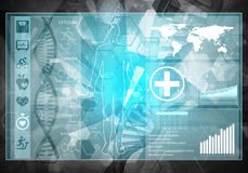 MedizinBenutzerschnittstelle Stockbild