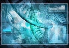 MedizinBenutzerschnittstelle, Wiedergabe 3D Lizenzfreies Stockfoto