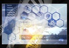 MedizinBenutzerschnittstelle, Wiedergabe 3D Stockbilder