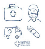 Medizindesign Stockbild
