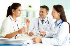 Medizinische Abfrage stockbilder