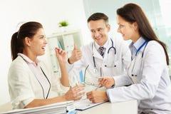 Medizinische Abfrage stockfotos